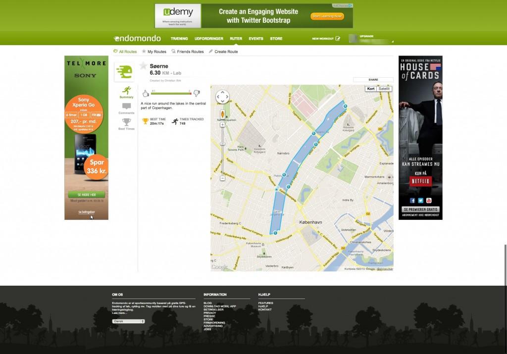 Endomondo   Community based on free GPS tracking of sports
